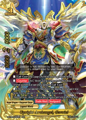 Upright Archangel, Gavriel [S-BT06/0005EN RRR (FOIL)] English