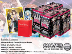 Weiss Schwarz BD Bundle (B) Silver - Get x4 BanG Dream! Booster Boxes + FREE Bonus