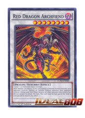 Red Dragon Archfiend - LC5D-EN069 - Common - 1st Edition