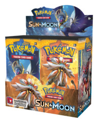 SM Sun & Moon (SM01) Pokemon Booster Box [36 Packs]