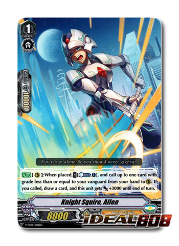 Knight Squire, Allen - V-TD01/008EN (Regular)