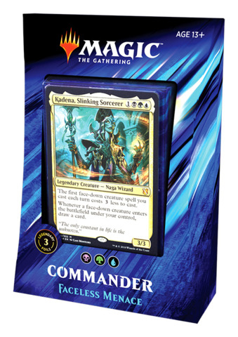 Commander 2019: Faceless Menace Deck