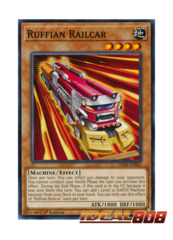 Ruffian Railcar - LED4-EN042 - Common - 1st Edition