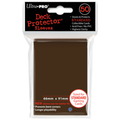 Ultra Pro Large Sleeves 50ct. - Brown (#84027)