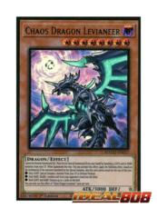 Chaos Dragon Levianeer Alternate Art - MAGO-EN017 - Premium Gold Rare - 1st Edition