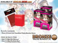Weiss Schwarz LLSS-EB Bundle (A) Bronze - Get x3 Love Live! Sunshine!! Extra Booster Boxes + FREE Bonus * PRE-ORDER Ships May.18