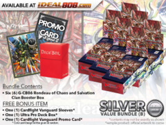Cardfight Vanguard G-CB06 Bundle (B) Silver - Get x6 Rondeau of Chaos and Salvation Booster Box + FREE Bonus Items * Ships Dec.1