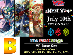 # The Next Stage [V-EB14 ID (B)] VR Base Set [4 of each VR's, RRR's, RR's, R's, & C's (256 Cards)]