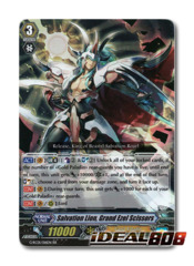 Salvation Lion, Grand Ezel Scissors - G-RC01/016EN - RR