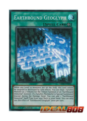 Earthbound Geoglyph - LED5-EN026 - Super Rare - 1st Edition