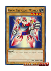 Gamma The Magnet Warrior - SDMY-EN009 - Common - 1st Edition