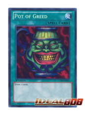 Pot of Greed - LCJW-EN061 - Secret Rare - 1st Edition
