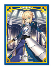 Fate/Grand Order Saber/Altria Pendragon Character Sleeve (80ct) [#336617]