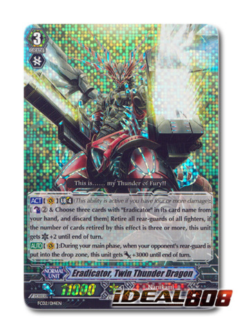 Eradicator, Twin Thunder Dragon - FC02/014EN - RRR