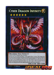 Cyber Dragon Infinity - MP16-EN237 - Secret Rare - 1st Edition