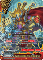 Thunder Knights, Gyral Strikes Drum [X2-BT01A-SP/0006EN RRR (FOIL)] English