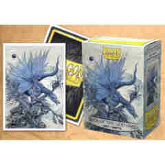 Dragon Shield Standard-size (100ct) Sleeves - Art Matte Seer of the God Hand