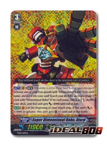 Super Dimensional Robo, Diard - FC02/017EN - RRR
