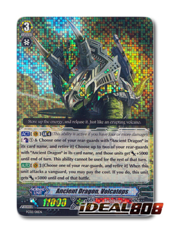 Ancient Dragon, Volcatops - FC02/011EN - RRR