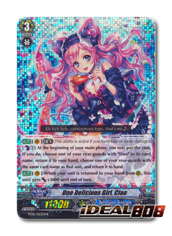 Duo Delicious Girl, Ciao (Black) - FC02/023EN-B - RRR