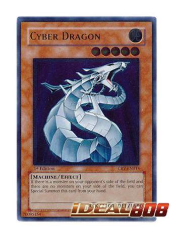 Cyber Dragon - CRV-EN015 - Ultimate Rare - 1st Edition