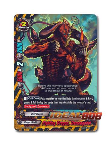 Fighting Dragon, Demongodol - BT01/0018EN (RR) Double Rare