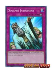 Solemn Judgment - SESL-EN045 - Super Rare - 1st Edition