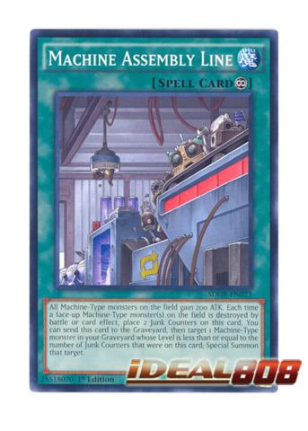 Machine Assembly Line - SDGR-EN023 - Common - 1st Edition