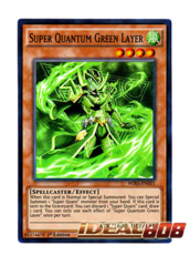 Super Quantum Green Layer - WIRA-EN031 - Super Rare - 1st Edition