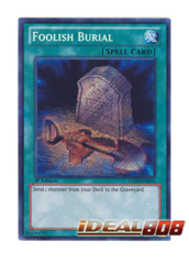 Foolish Burial - LCJW-EN070 - Secret Rare - 1st Edition