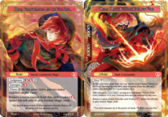 Mars, Fortuneteller of the Fire Star // Mars, Dark Commander of Fire [CFC-027 R (Textured Foil Ruler)] English