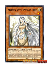 Maiden with Eyes of Blue - LED3-EN008 - Common - 1st Edition