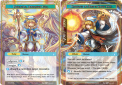 Charlotte, Determined Girl // Charlotte, The Mage of Sacred Spirit [CFC-038 R (Textured Foil Ruler)] English
