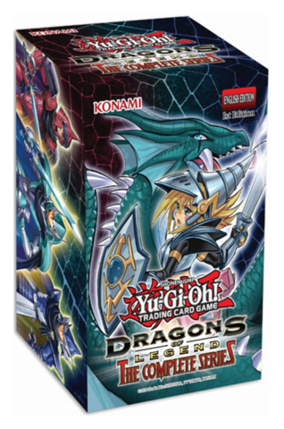 Dragons of Legend: The Complete Series Booster Box [2 Packs + 1 Secret Rare Promo] * PRE-ORDER Ships Sep.11