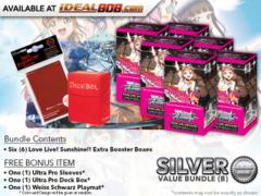 Weiss Schwarz LLSS-EB Bundle (B) Silver - Get x6 Love Live! Sunshine!! Extra Booster Boxes + FREE Bonus * PRE-ORDER Ships May.18
