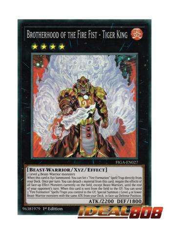 Tenki FIGA-EN028 1st Edition Yu-Gi-Oh Fire Formation