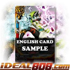 Chained Strikes Warlock, Rabukh [X-BT01A-CP01/0029EN R (FOIL)] English