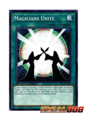 Magicians Unite - SBLS-EN009 - Common - 1st Edition