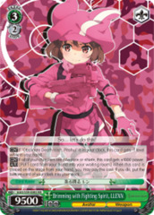 Brimming with Fighting Spirit, LLENN [GGO/S59-E003 RR (Mosaic Gloss)] English