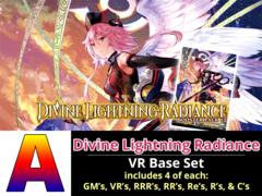 # Divine Lightning Radiance [V-BT12 ID (A)] VR Base Set [4 of each VR's, RRR's, RR's, R's, & C's (364 cards)]