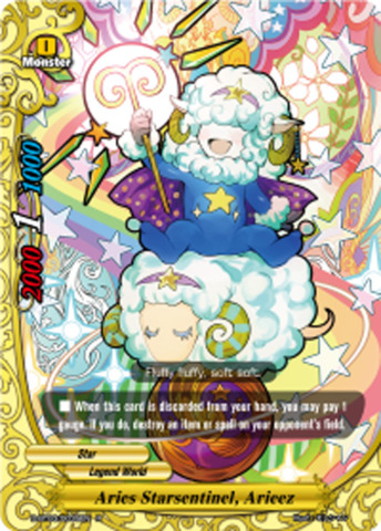 Aries Starsentinel, Arieez [D-BT03/0035EN R (FOIL)] English
