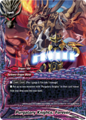 Purgatory Knights, Forever [X-BT02A-SS02/0010EN RR (FOIL)] English