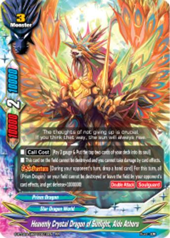 Heavenly Crystal Dragon of Sunlight, Aldo Athora [S-BT02A-UB04/0010EN RR (FOIL)] English