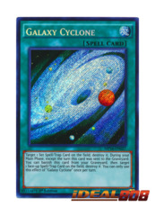 Galaxy Cyclone - MP16-EN027 - Secret Rare - 1st Edition