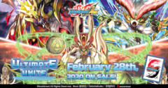 BFE-S-CBT03 Ultimate Unite (English) Future Card Buddyfight Ace Climax Booster  Case [16 Boxes] * PRE-ORDER Ships Feb.28