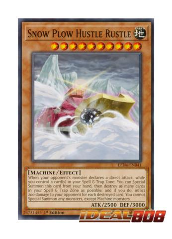Snow Plow Hustle Rustle - LED4-EN041 - Common - 1st Edition