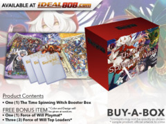 R03 The Time Spinning Witch (English) Force of Will Booster Box + FREE Playmat & FoW Top Loaders