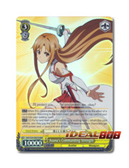 Asuna's Commanding Strength [SAO/S20-E007R RRR (Foil)] English