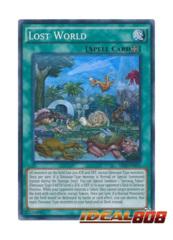 Lost World - SR04-EN021 - Super Rare - Unlimited Edition