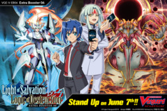 CFV-V-EB06 Light of Salvation, Logic of Destruction (English) Cardfight Vanguard V-Extra Booster  Case [24 Boxes] * Ships Jun.07